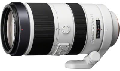 Sony Objektiv »Vollformat - Teleobjektiv 70 - 400 mm F4 - 5,6« kaufen