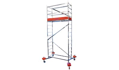 KRAUSE Fahrgerüst »ClimTec«, Arbeitshöhe 5 m, inkl. Fahrrollensatz 125 mm kaufen