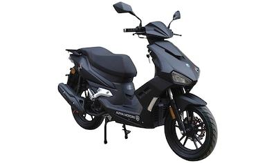 Alpha Motors Motorroller »Mustang«, 125 cm³, 85 km/h, Euro 5, 8,6 PS, mattschwarz kaufen