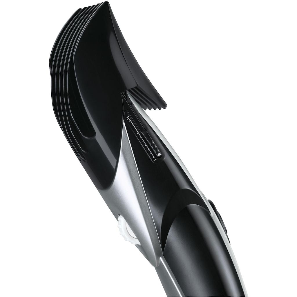 Grundig Haar- und Bartschneider »MC 3140«, 2 Aufsätze, Edelstahlschneidsatz