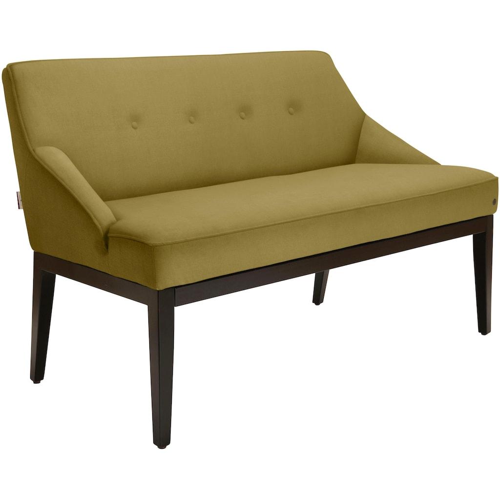 TOM TAILOR Sitzbank »COZY«, mit schwarzen Holzfüßen, Breite 130 cm