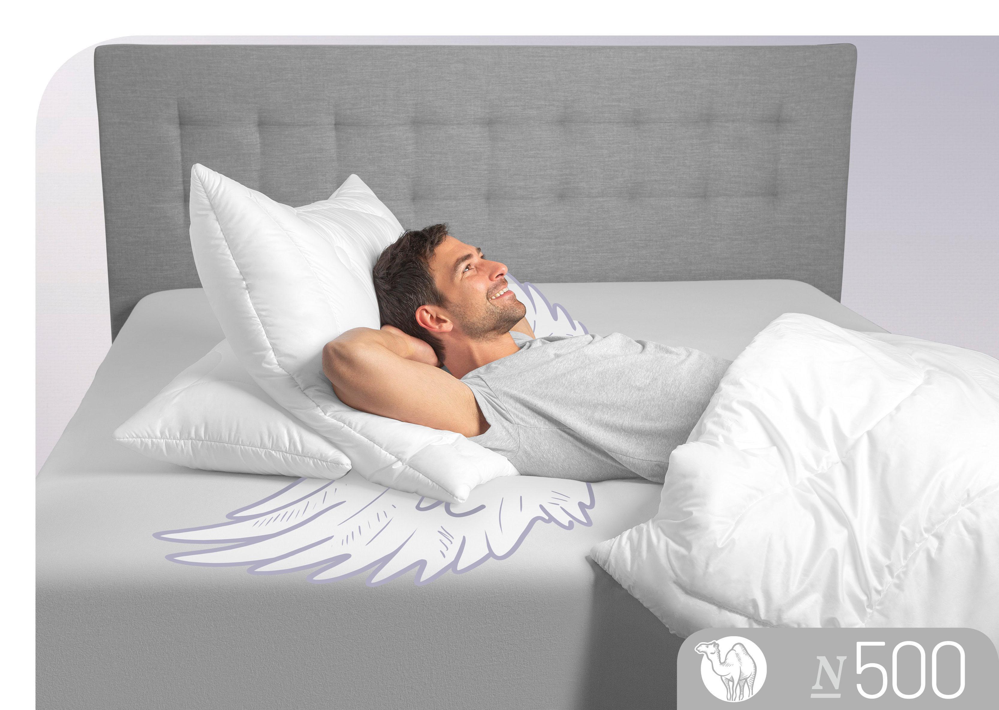 3-Kammer-Kopfkissen N500 Schlafstil