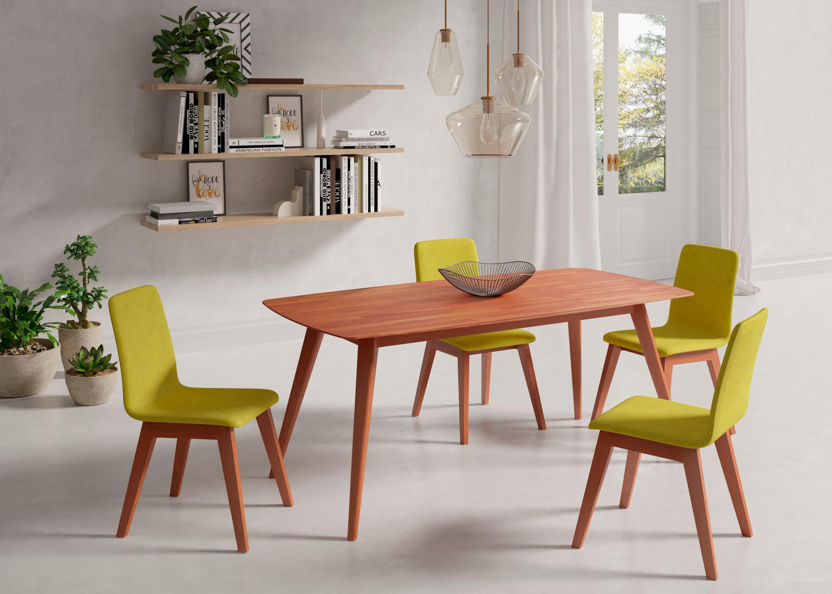 INOSIGN Esstisch, Breite 140 cm und 180 braun Esstisch Holz-Esstische Holztische Tische
