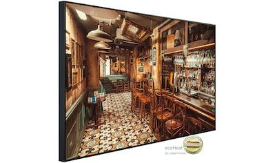Papermoon Infrarotheizung »Restaurant«, sehr angenehme Strahlungswärme kaufen