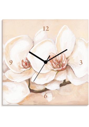 Artland Wanduhr »Orchideenzweig«, lautlos, ohne Tickgeräusche, nicht tickend,... kaufen