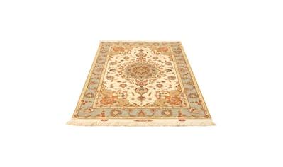morgenland Teppich »Täbriz 60 Raj Teppich handgeknüpft beige«, rechteckig, 7 mm Höhe,... kaufen