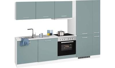 HELD MÖBEL Küchenzeile »Visby«, mit E-Geräten, Breite 270 cm kaufen