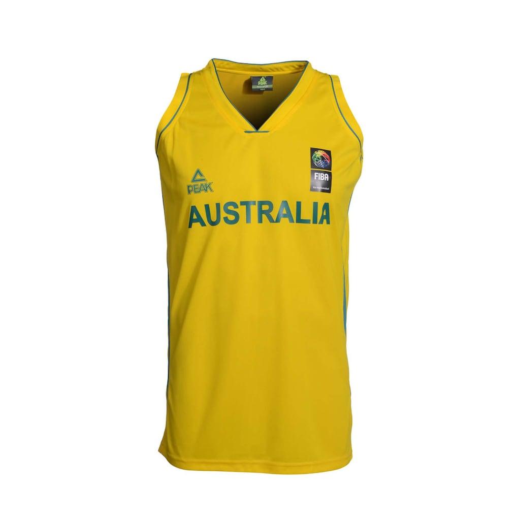 PEAK Basketballtrikot »Single Jersey Australia«, im lässigen Schnitt