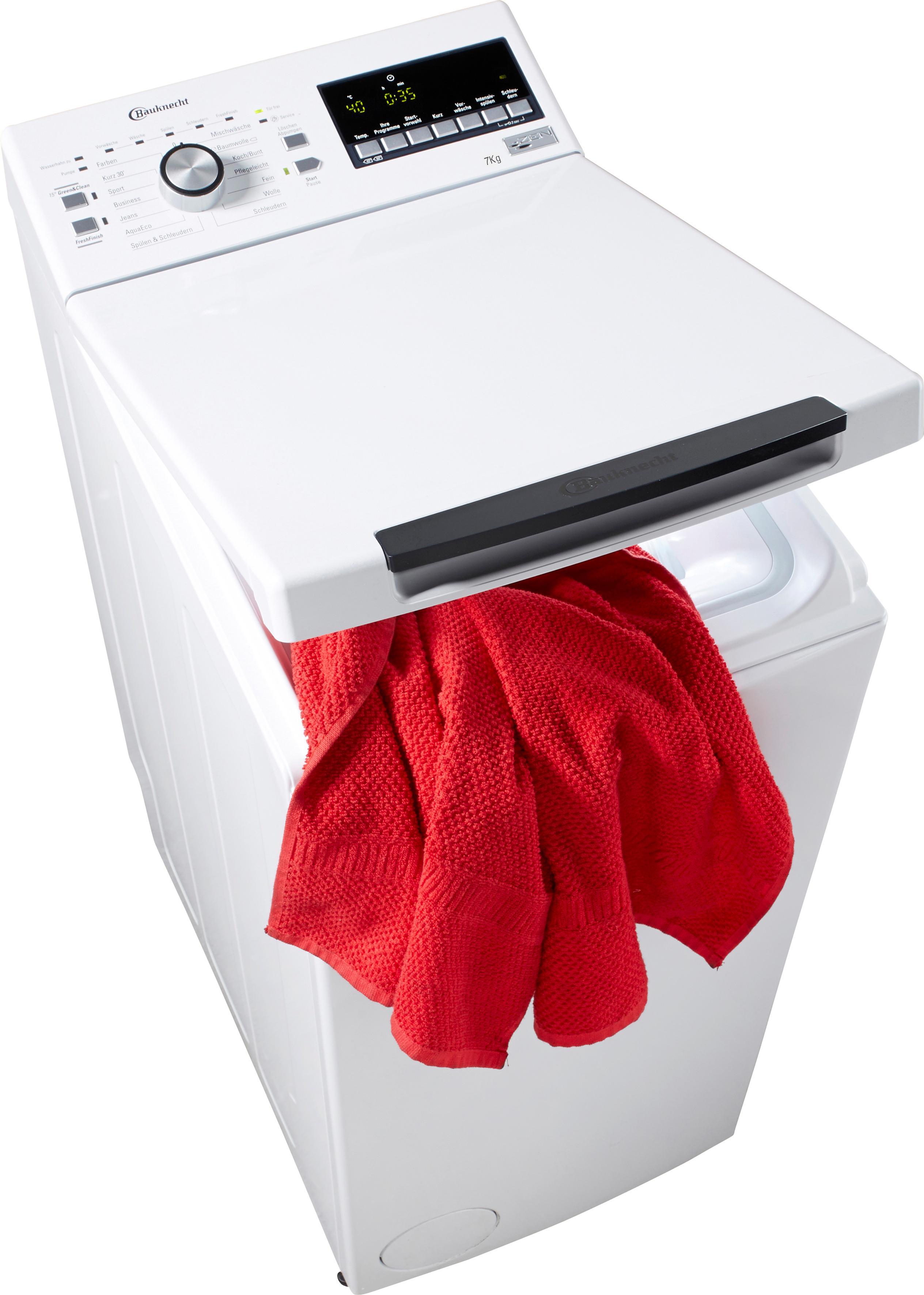 bauknecht waschmaschine toplader wmt style 722 zen auf. Black Bedroom Furniture Sets. Home Design Ideas