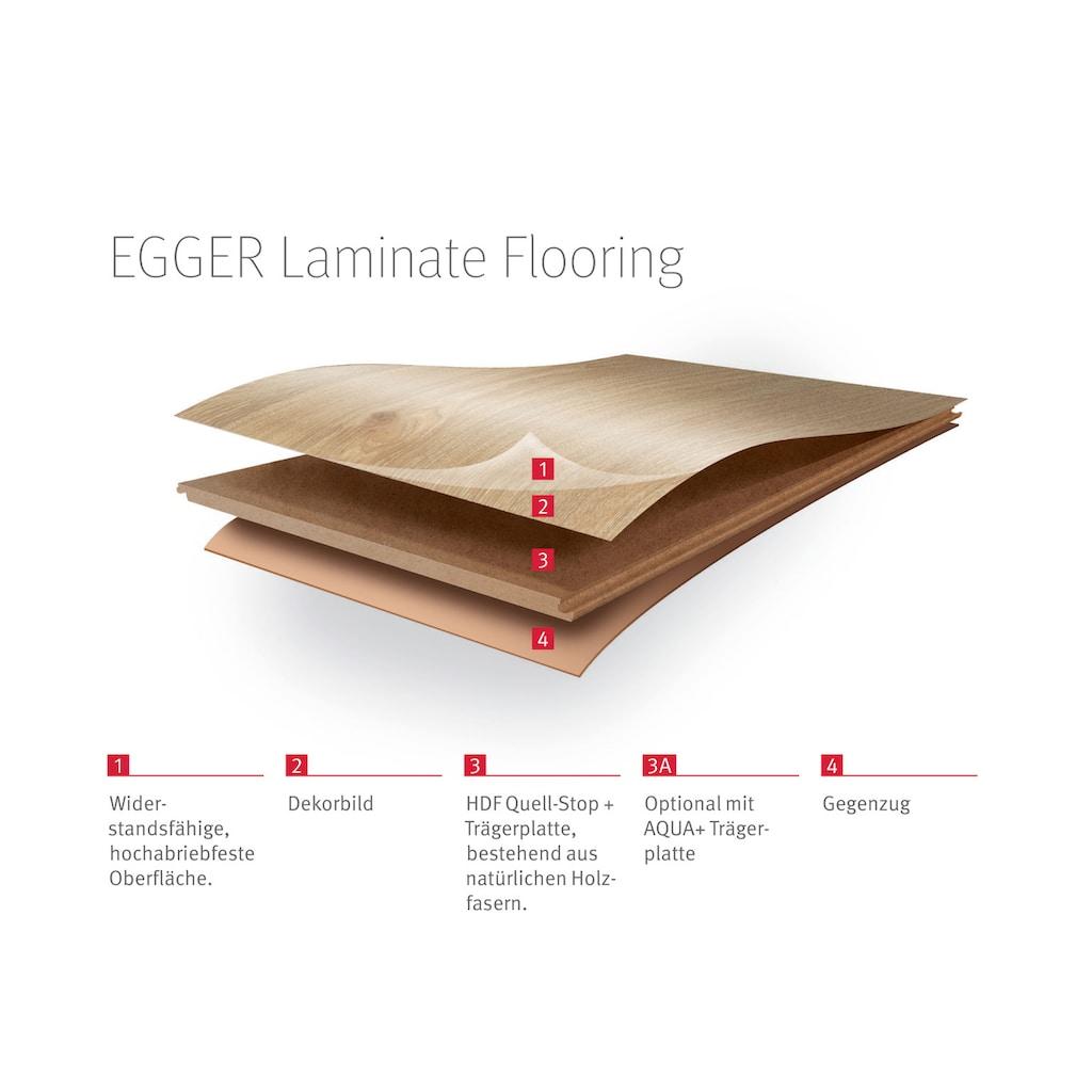 EGGER Laminat »EHL137 Triestino Terrazzo weiss«, 8mm, 2,535m²