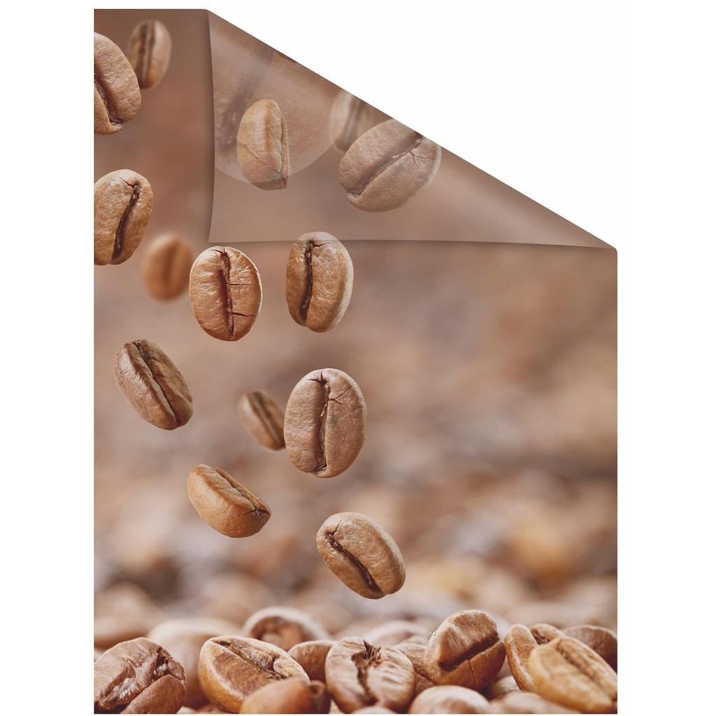 LICHTBLICK ORIGINAL Fensterfolie »Kaffee«, 1 St., blickdicht, strukturiertKlebepunkte, selbstklebend, Sichtschutz