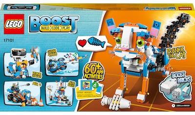 LEGO® Konstruktionsspielsteine »Programmierbares Roboticset (17101), LEGO® BOOST«, (847 St.), Made in Europe kaufen