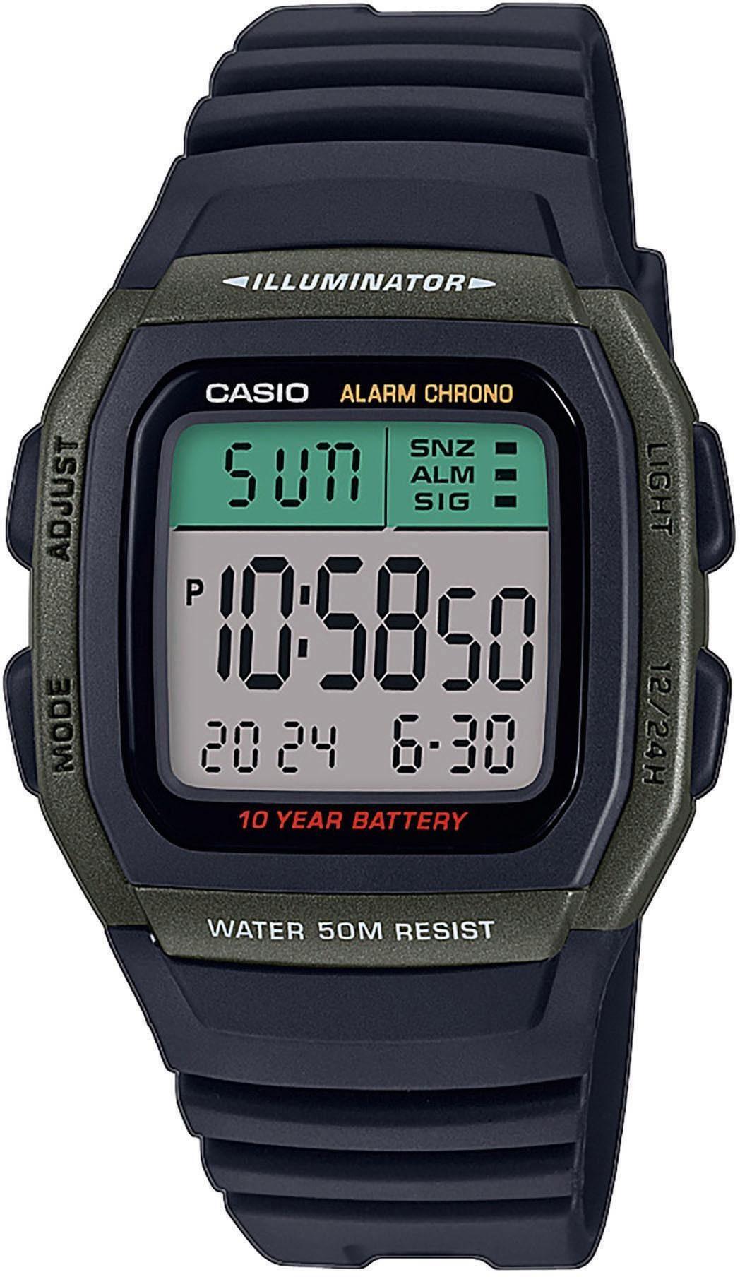 Casio Collection Chronograph W-96H-3AVEF   Uhren > Chronographen   Casio Collection