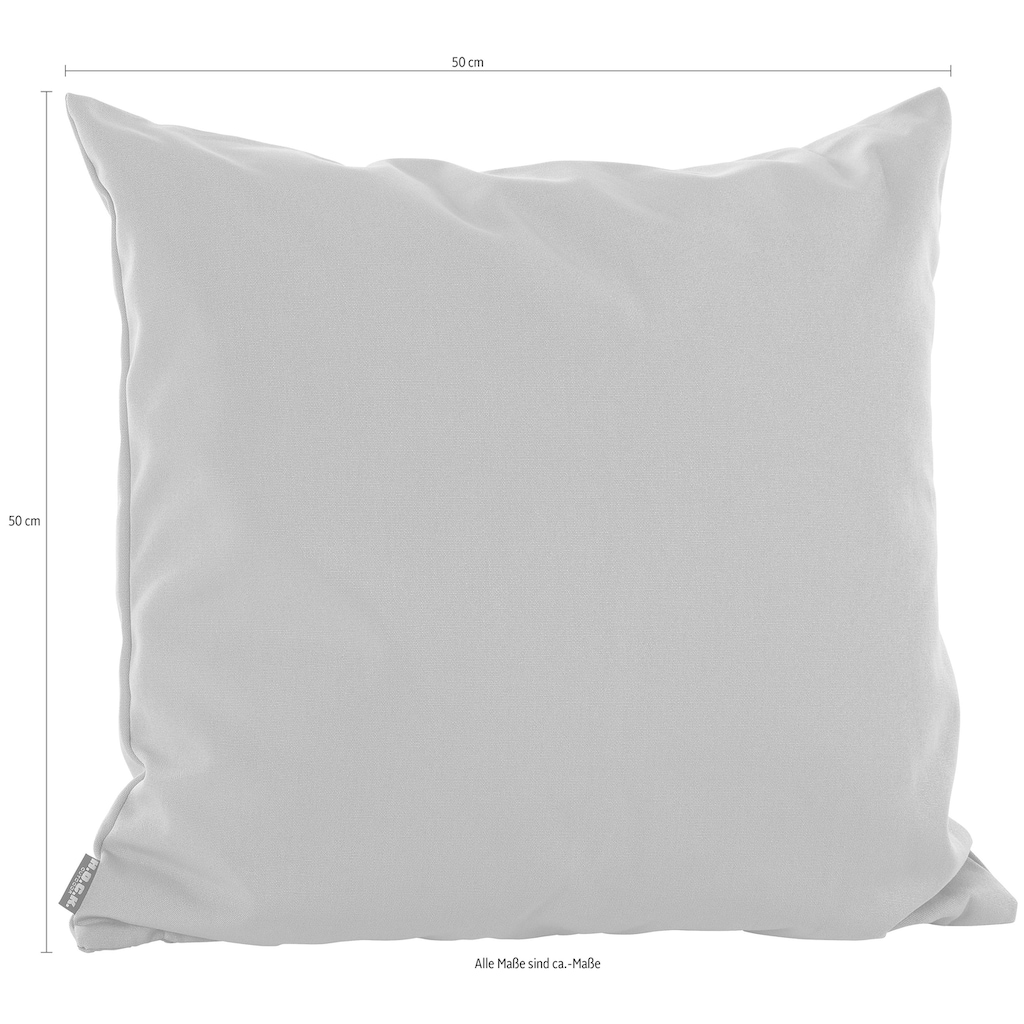 H.O.C.K. Dekokissen »Classic Uni«, 50/50 cm
