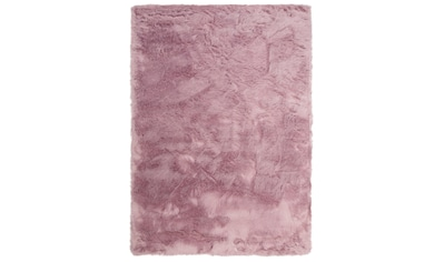 Home affaire Fellteppich »Valeria«, rechteckig, 60 mm Höhe, Kunstfell, sehr weicher... kaufen