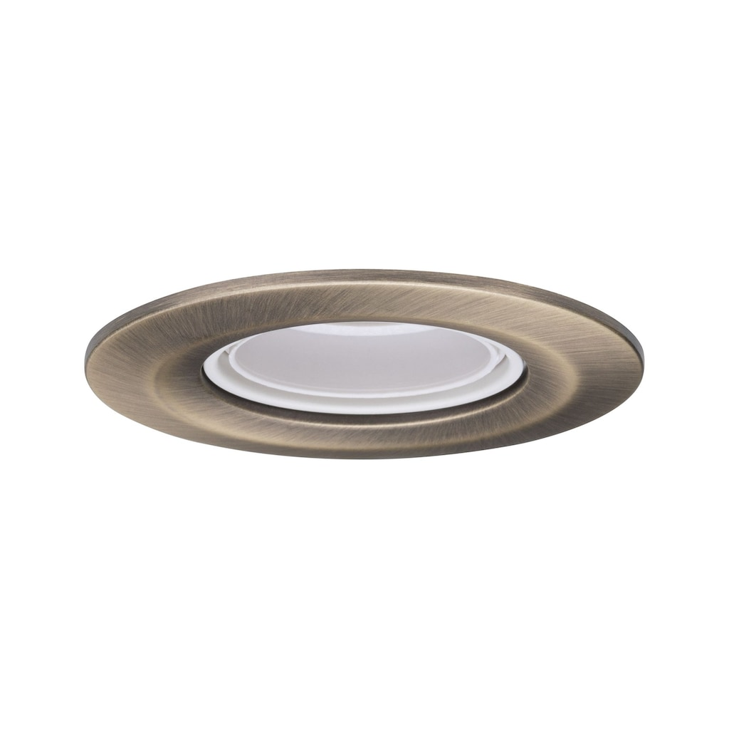 Paulmann LED Einbaustrahler »Nova Retro E27 max 10W Brüniert«, E27