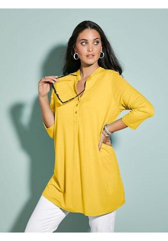 MIAMODA Longshirt, mit Knopfleiste kaufen