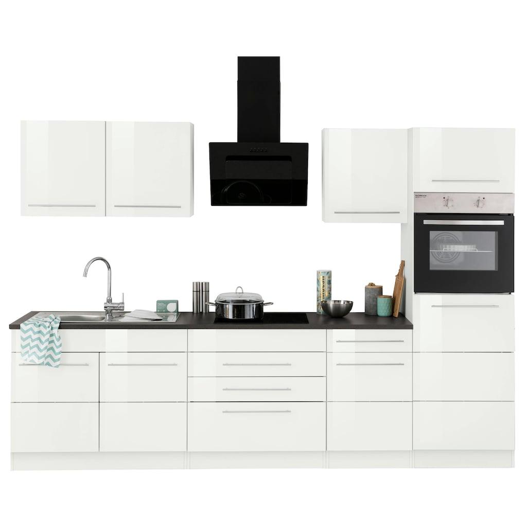HELD MÖBEL Küchenzeile »Trient«, mit E-Geräten, Breite 290 cm