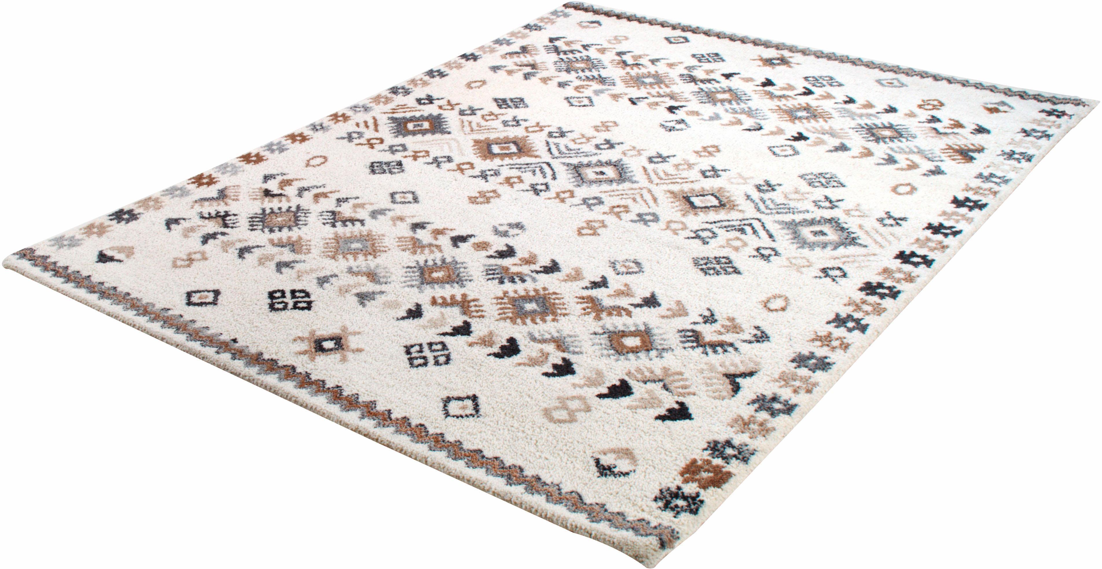 Wollteppich Royal Berber 113 THEKO rechteckig Höhe 18 mm handgetuftet