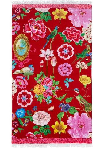 Happiness Strandtuch »Blossom«, (1 St.), mit Fransen kaufen