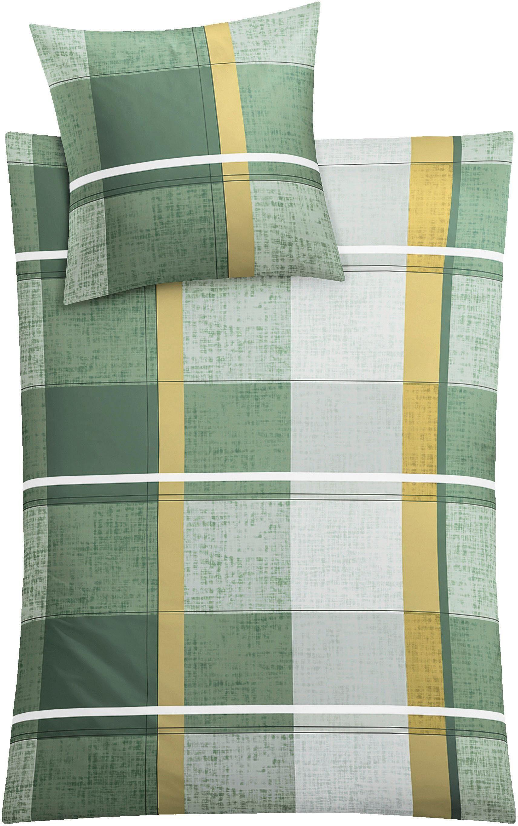 Kleine Wolke Bettwäsche Tara, auffälliges Design/Muster in strahlender Farbkombination