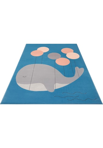 HANSE Home Kinderteppich »Whale Buddy«, rechteckig, 9 mm Höhe kaufen