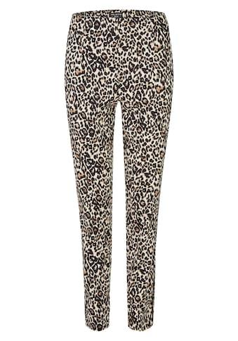 VIA APPIA DUE Modische Hose mit Leo-Muster Plus Size kaufen