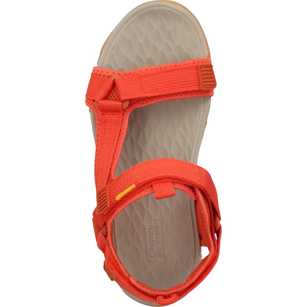 camel active Sandale »Lederimitat/Textil«