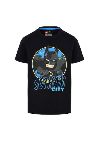 """LEGO® Wear Kurzarmshirt »M12010023«, Schriftzug """" GOTHAM CITY """" kaufen"""