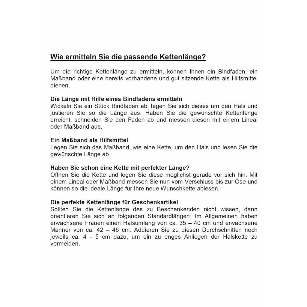 Firetti Kette mit Anhänger »Glaube, Liebe, Hoffnung, Gelbgold«