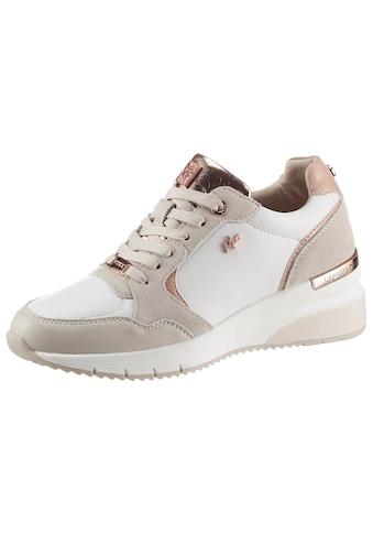 Mexx Wedgesneaker »GENA«, mit roségoldfarbenen Details kaufen
