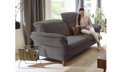 DELAVITA 3-Sitzer »Deike«, mit Kopfteilverstellung und klappbarer Armlehne kaufen