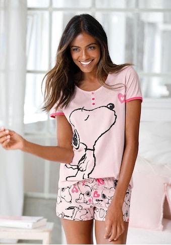 Peanuts Shorty, mit Snoopy-Herz-Print kaufen