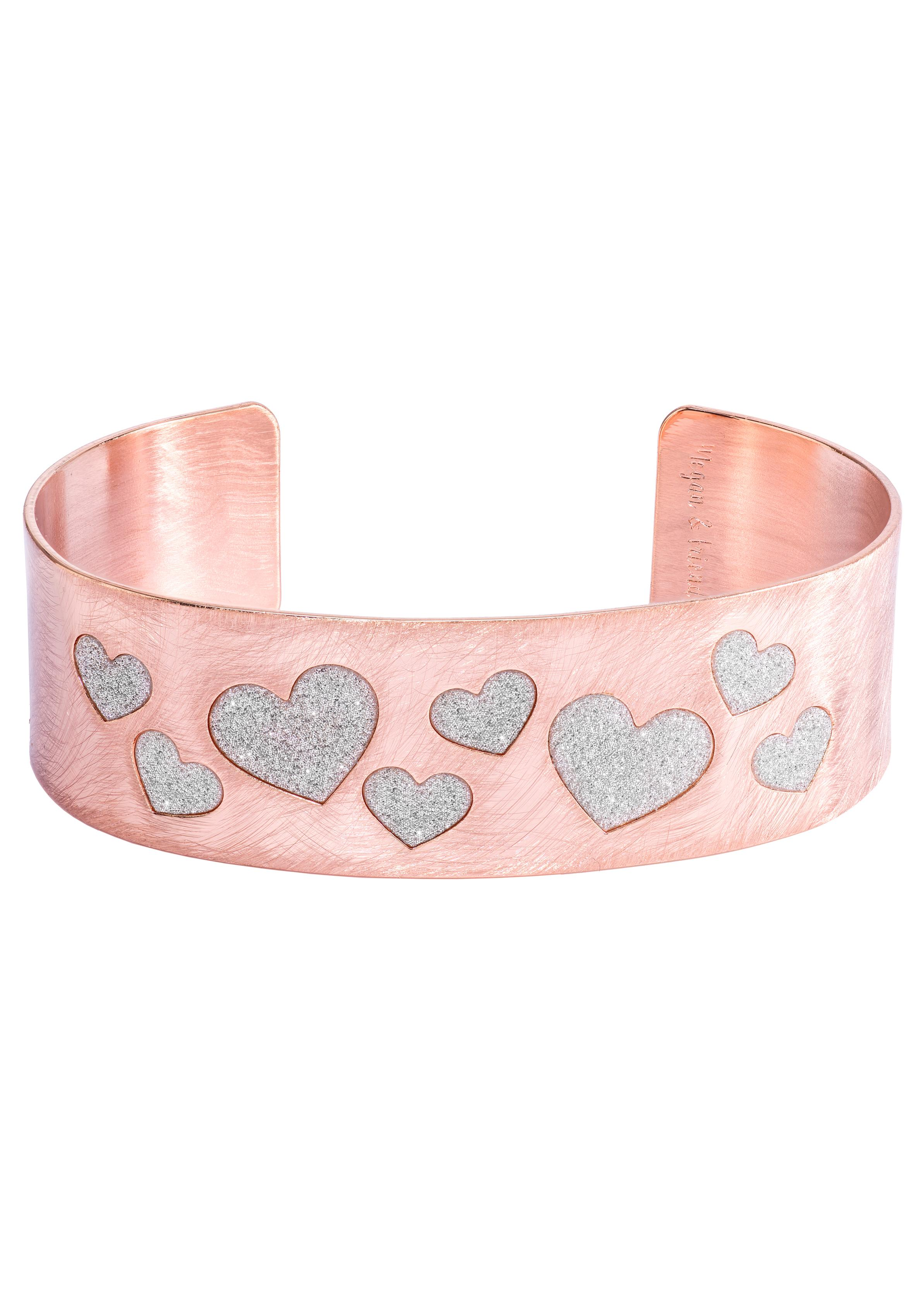 Megan & Friends Armspange HEARTS Herzen MF20091-03 | Schmuck > Armbänder > Armspangen | Megan & Friends