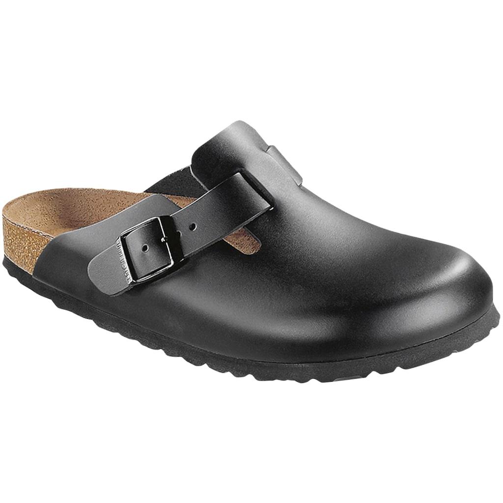 Birkenstock Sandale »60193«, Boston NL Schwarz