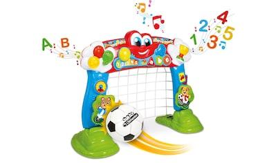Clementoni® Lernspielzeug »Clementoni Baby - Interaktives Fußballtor«, mit Ball und... kaufen