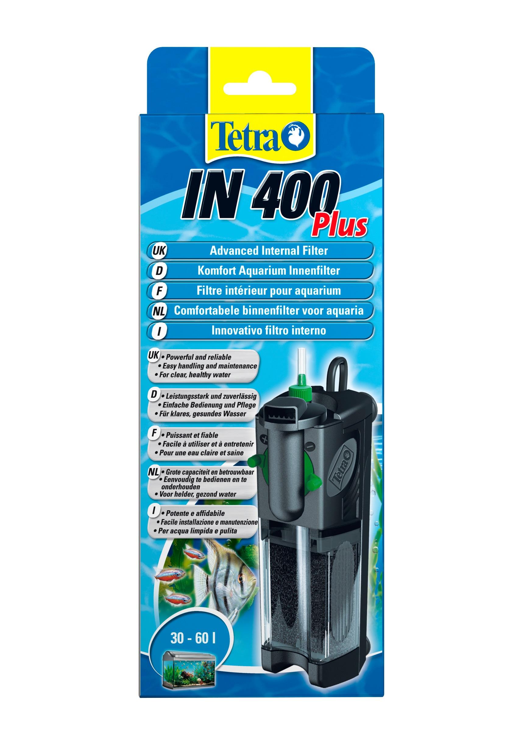 Tetra Aquariumfilter IN plus Innenfilter schwarz Aquarium-Filter Aquaristik Tierbedarf