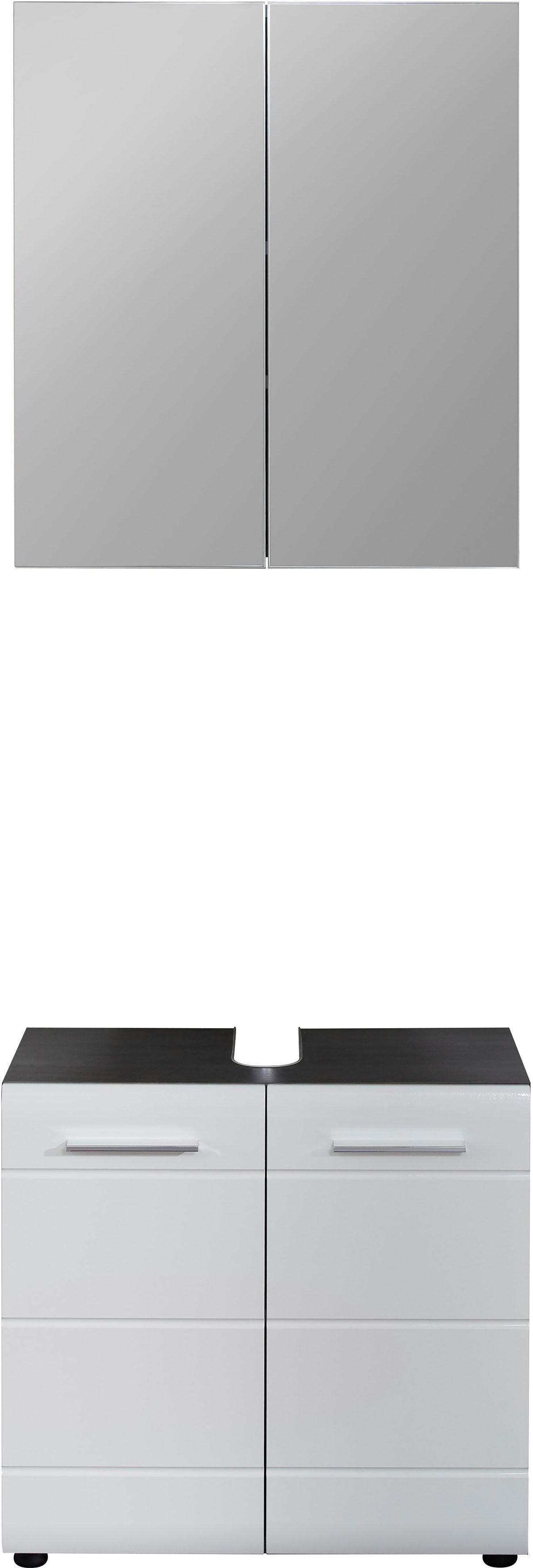 trendteam Badezimmer-Set Line (2-tlg)
