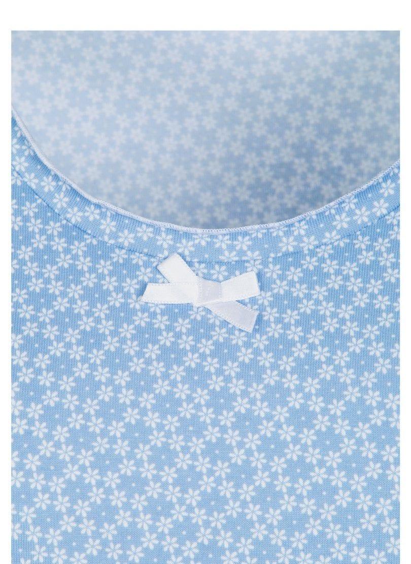 Trigema 3/4 Arm Nachthemd mit Spitze