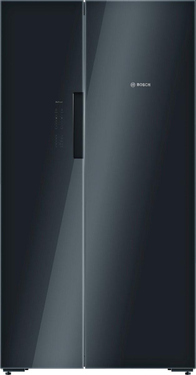 Side By Side Kühlschrank Schwarz : Side by side kühlschrank auf rechnung raten kaufen