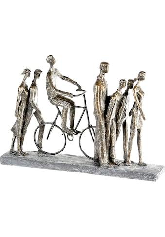 Casablanca by Gilde Dekofigur »Skulptur In the City, bronzefarben/grau«, Dekoobjekt,... kaufen