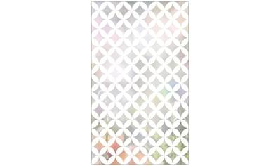 MySpotti Fensterfolie »Look Chadi white«, halbtransparent, glattstatisch haftend, 60 x... kaufen