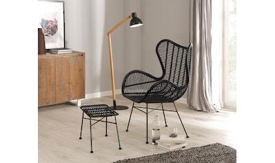 Home affaire Sessel »Malger«, aus einem schönen Rattangeflecht und einem edlen... kaufen