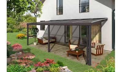 SKANHOLZ Terrassendach »Monza«, BxT: 648x357, anthrazit kaufen