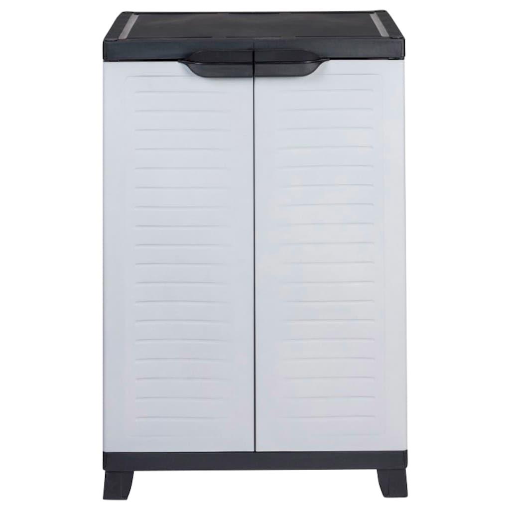 Kreher Mehrzweckschrank »Elite«, B/T/H: 65x45x97 cm, 2 Einlegeböden, Kunststoff