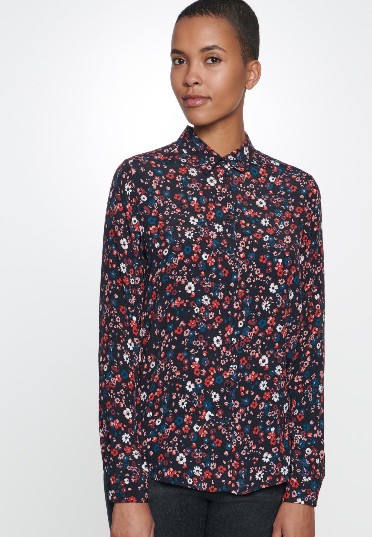 seidensticker -  Hemdbluse Schwarze Rose