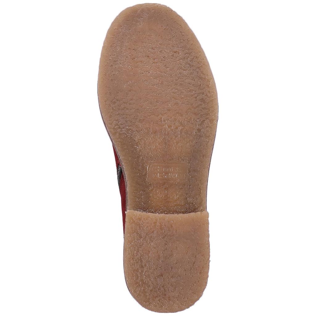 camel active Schnürstiefelette »Leder«