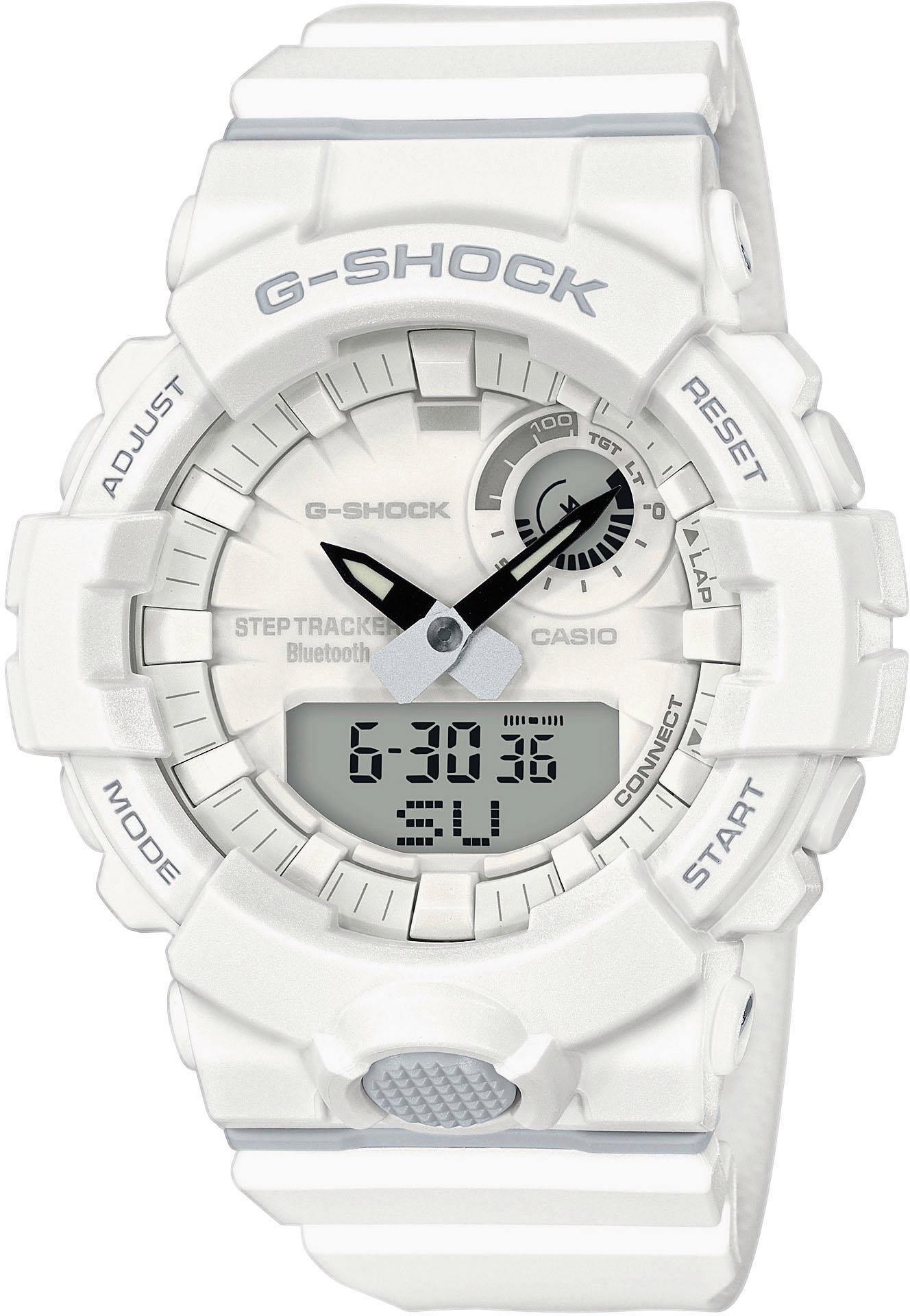 CASIO G-SHOCK GBA-800-7AER Smartwatch | Uhren > Smartwatches | Weiß | Casio G-Shock