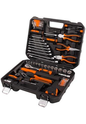 Profiwerk Werkzeugset, (148 St.), befüllter Werkzeugkoffer kaufen