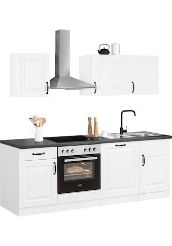 wiho Küchen Küchenzeile »Erla«, ohne E - Geräte, Breite 220 cm kaufen